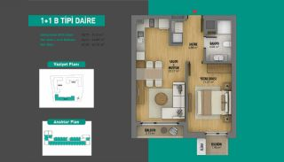 Lake View Apartments in Fully Equipped Project in Istanbul, Property Plans-2