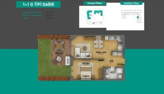 Lake View Apartments in Fully Equipped Project in Istanbul, Property Plans-7