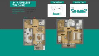 Lake View Apartments in Fully Equipped Project in Istanbul, Property Plans-10