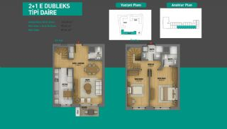 Lake View Apartments in Fully Equipped Project in Istanbul, Property Plans-12