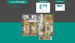 Lake View Apartments in Fully Equipped Project in Istanbul, Property Plans-13