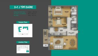Lake View Apartments in Fully Equipped Project in Istanbul, Property Plans-14