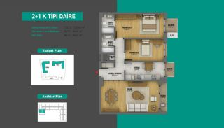 Lake View Apartments in Fully Equipped Project in Istanbul, Property Plans-15