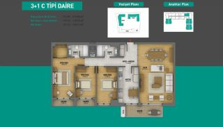 Lake View Apartments in Fully Equipped Project in Istanbul, Property Plans-21
