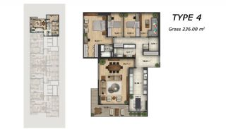 Central Apartments Overlooking the Sea in Istanbul, Property Plans-3