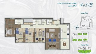 Family Apartments with Environmentalist Features in Istanbul, Property Plans-11