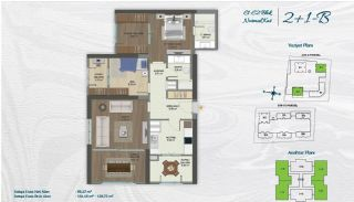 Family Apartments with Environmentalist Features in Istanbul, Property Plans-2