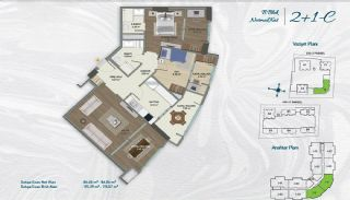 Family Apartments with Environmentalist Features in Istanbul, Property Plans-3