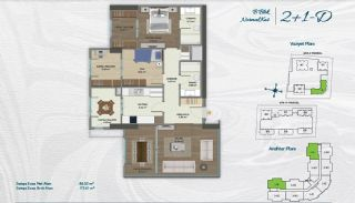 Family Apartments with Environmentalist Features in Istanbul, Property Plans-4