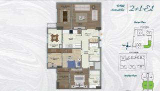 Family Apartments with Environmentalist Features in Istanbul, Property Plans-5