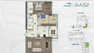 Family Apartments with Environmentalist Features in Istanbul, Property Plans-6