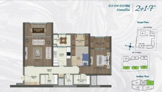 Family Apartments with Environmentalist Features in Istanbul, Property Plans-7