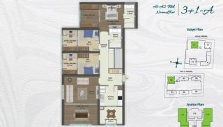 Family Apartments with Environmentalist Features in Istanbul, Property Plans-8