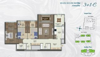 Family Apartments with Environmentalist Features in Istanbul, Property Plans-9