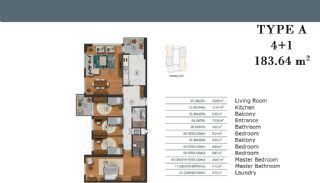 Luxury Apartments in Istanbul with Separate Kitchen, Property Plans-5