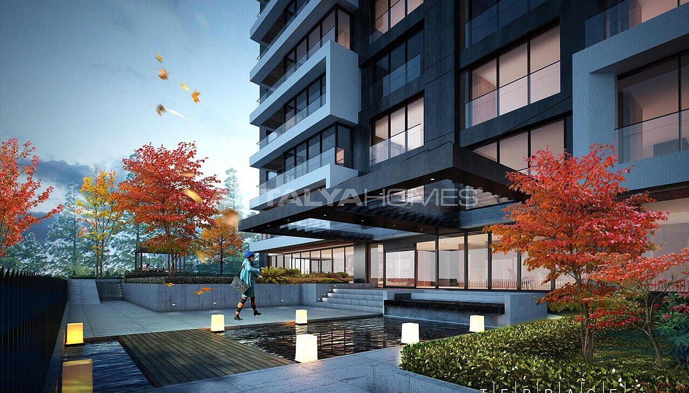 istanbul apartments 1 km to caddebostan coast. Black Bedroom Furniture Sets. Home Design Ideas