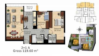 Luxury Istanbul Apartments Close the Highways in Bagcilar, Property Plans-4
