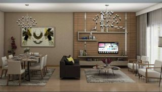 Family Oriented New Flats in Istanbul Basaksehir, Interior Photos-1