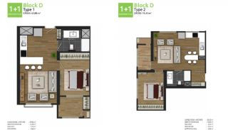 Family Oriented New Flats in Istanbul Basaksehir, Property Plans-2