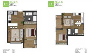 آپارتمان های جدید خانوادگی اورینتال در استانبول باشاکشهیر, پلان ملک-2
