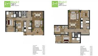Family Oriented New Flats in Istanbul Basaksehir, Property Plans-4