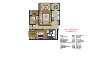 Quality Apartments in Turkey Istanbul near TEM Highway, Property Plans-2