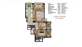 Quality Apartments in Turkey Istanbul near TEM Highway, Property Plans-4