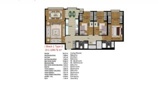 Quality Apartments in Turkey Istanbul near TEM Highway, Property Plans-5