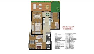 Quality Apartments in Turkey Istanbul near TEM Highway, Property Plans-6