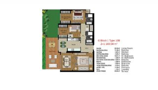 Quality Apartments in Turkey Istanbul near TEM Highway, Property Plans-7