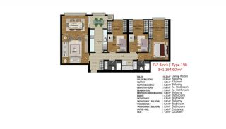 Quality Apartments in Turkey Istanbul near TEM Highway, Property Plans-9