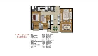 Quality Apartments in Turkey Istanbul near TEM Highway, Property Plans-10