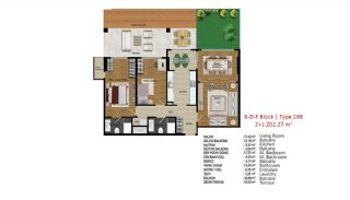 Quality Apartments in Turkey Istanbul near TEM Highway, Property Plans-11