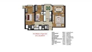 Quality Apartments in Turkey Istanbul near TEM Highway, Property Plans-12