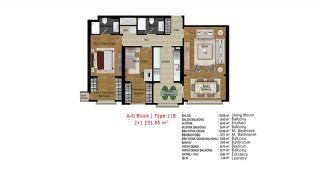 Quality Apartments in Turkey Istanbul near TEM Highway, Property Plans-13