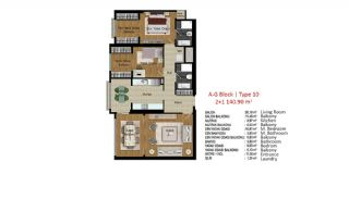 Quality Apartments in Turkey Istanbul near TEM Highway, Property Plans-14