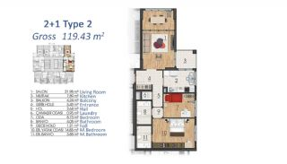 Luxury Apartments in Istanbul with Special Payment Plan, Property Plans-1
