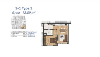 Luxury Apartments in Istanbul with Special Payment Plan, Property Plans-2