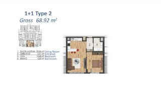 Luxury Apartments in Istanbul with Special Payment Plan, Property Plans-3