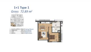 Luxury Apartments in Istanbul with Special Payment Plan, Property Plans-4