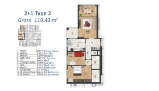 Luxury Apartments in Istanbul with Special Payment Plan, Property Plans-5
