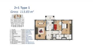 Luxury Apartments in Istanbul with Special Payment Plan, Property Plans-6