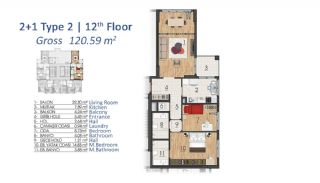 Luxury Apartments in Istanbul with Special Payment Plan, Property Plans-7