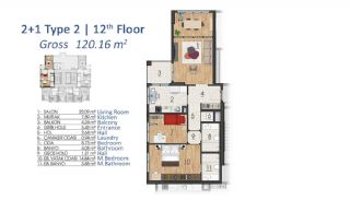 Luxury Apartments in Istanbul with Special Payment Plan, Property Plans-11