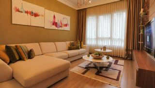 Ready Apartments with Sea View in Istanbul Avcilar, Interior Photos-19