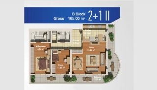 Ready Apartments with Sea View in Istanbul Avcilar, Property Plans-2
