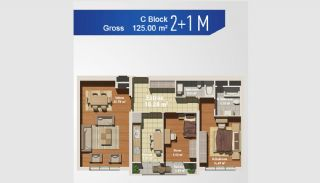Ready Apartments with Sea View in Istanbul Avcilar, Property Plans-3
