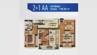 Ready Apartments with Sea View in Istanbul Avcilar, Property Plans-4