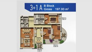 Ready Apartments with Sea View in Istanbul Avcilar, Property Plans-6
