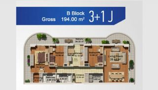 Ready Apartments with Sea View in Istanbul Avcilar, Property Plans-7